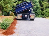 Side dump-through is quick and easy and requires no extra attachments.