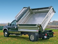 The Stainless Steel Deuce offers added corrosion protection. Add poly sideboards, fenders and tarps for added convenience.