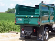 Landscape Tipper shown with optional sliding patchgate.