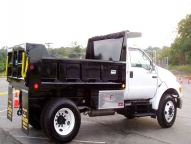 5-7 cu. yd. Select body with vertical side ribs, cab shield, corner post and other available options.