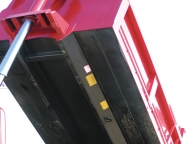 Western Tubular Understructure leaves less areas for material to collect.