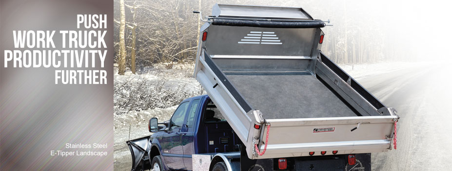 Stainless Steel E-Tipper: Push work truck productivity further