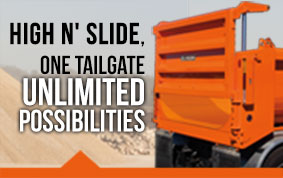 High 'N Slide Tailgate - Unlimited Possibilities!